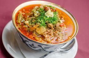 лагман узбекский густой суп простое в приготовление аппетитное блюдо