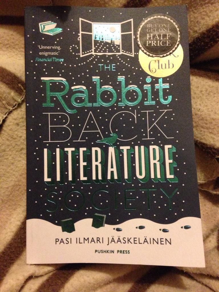 Mar 2015 - finished reading The Rabbit Back Literature Society. Interesting, weird but with some unanswered questions at the end.