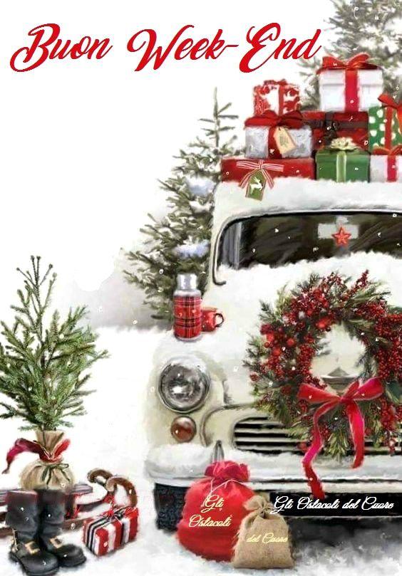 Immagini Natalizie Gratuite.Buon Week End Amore Natale Buon Natale Natale Retro