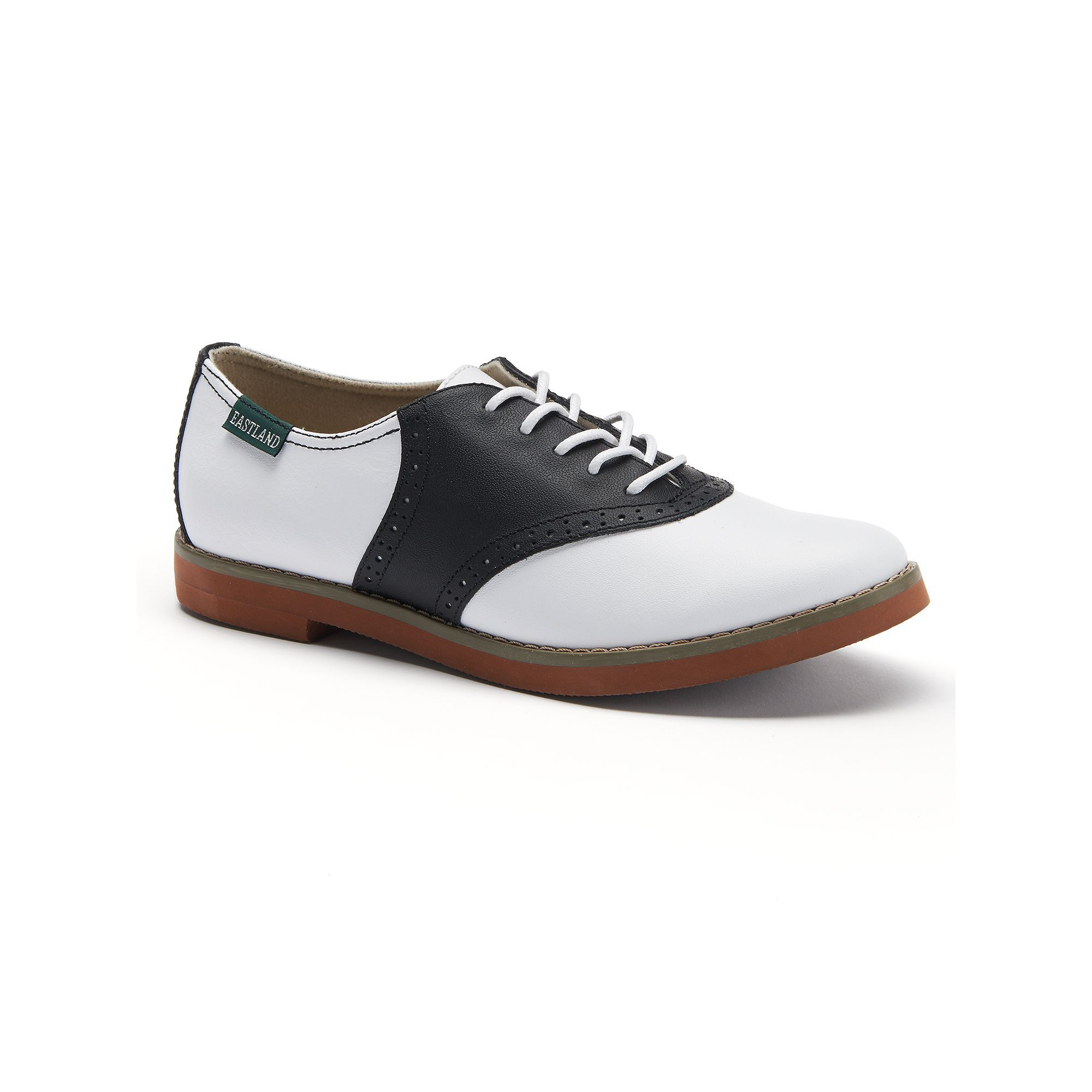 Eastland Sadie Saddle Women's Oxford Shoes, Grey (Charcoal)