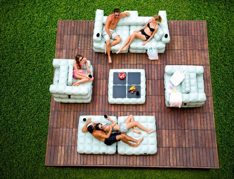aufblasbare-moebel-garten-otdoor-modern-terrasse-holzdielen-module - pool garten aufblasbar