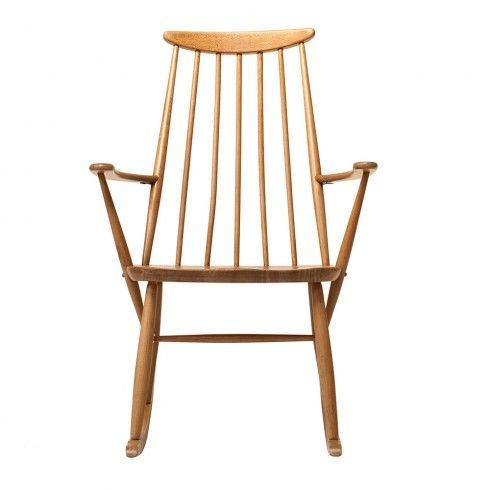 Vintage Homedecor Rockingchair Ercol Ercoldiningchairs Ercolchair Vintage Rocking Chair Coussin Tropical