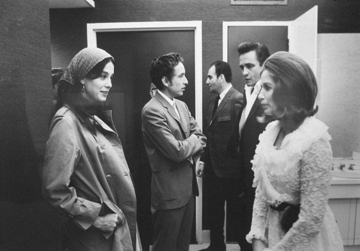 Carnegie Hall 1968 Sara Dylan Bob Unknown Johnny Cash June