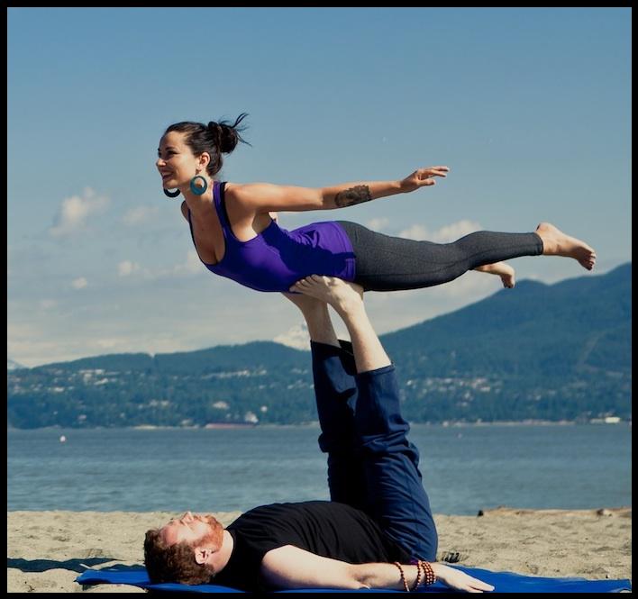 Yoga Yogapose Asana Om Couplesyoga Partneryoga