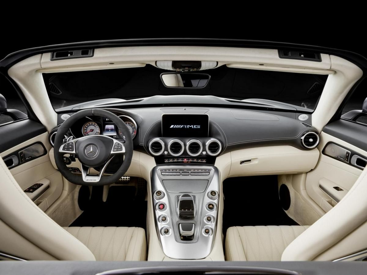 Mercedes Amg Gt Roadster Interior Dashboard With Images