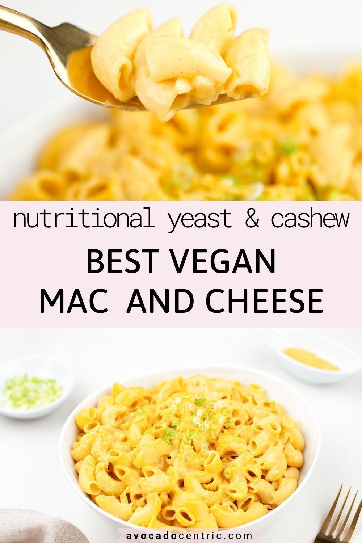 Vegan Mac And Cheese Recipe Easy Gluten Free Recipe In 2020 Plant Based Cheese Sauce Vegan Mac And Cheese Recipes