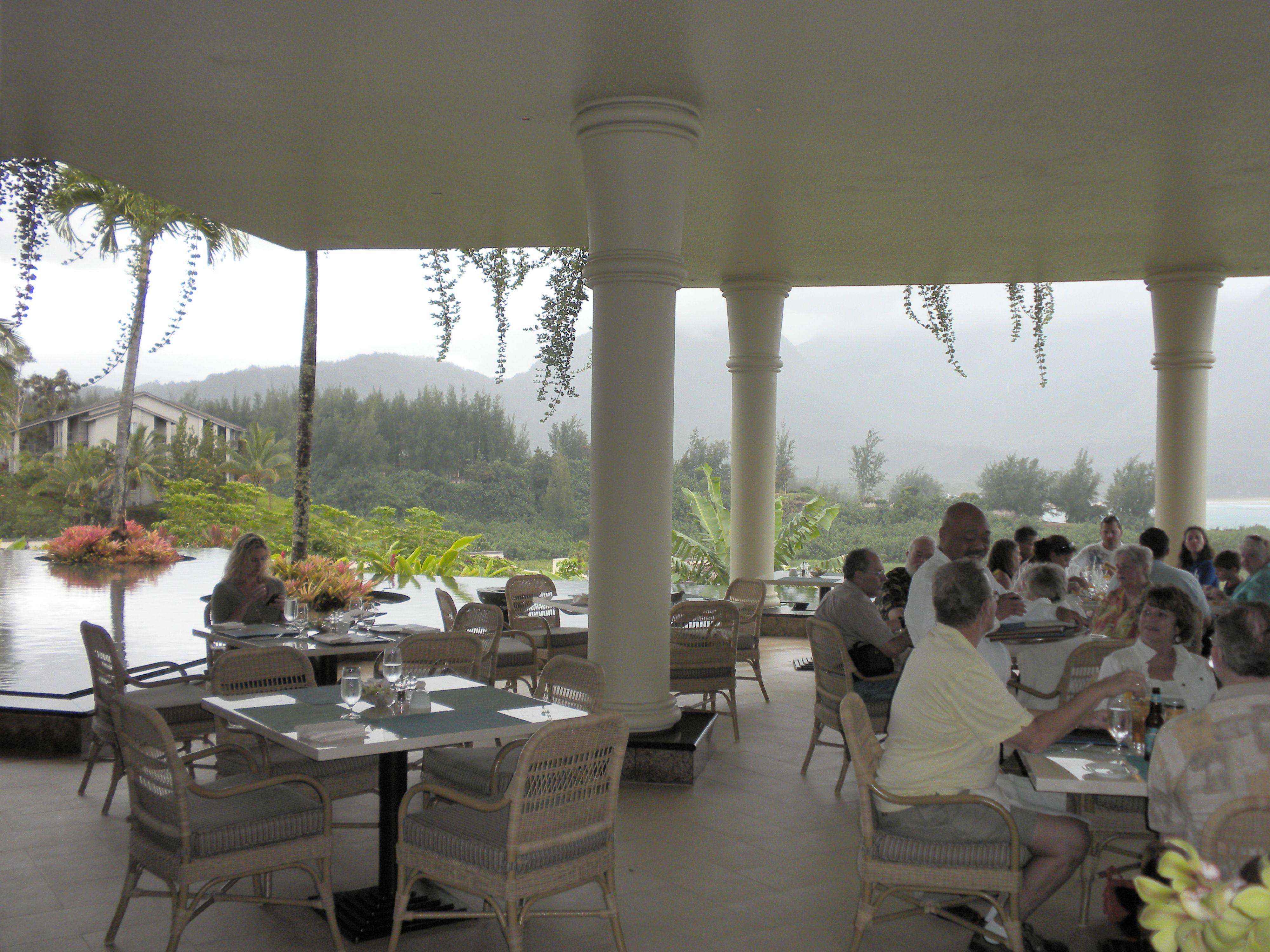St Regis Princeville Resort Restaurant Overlooking