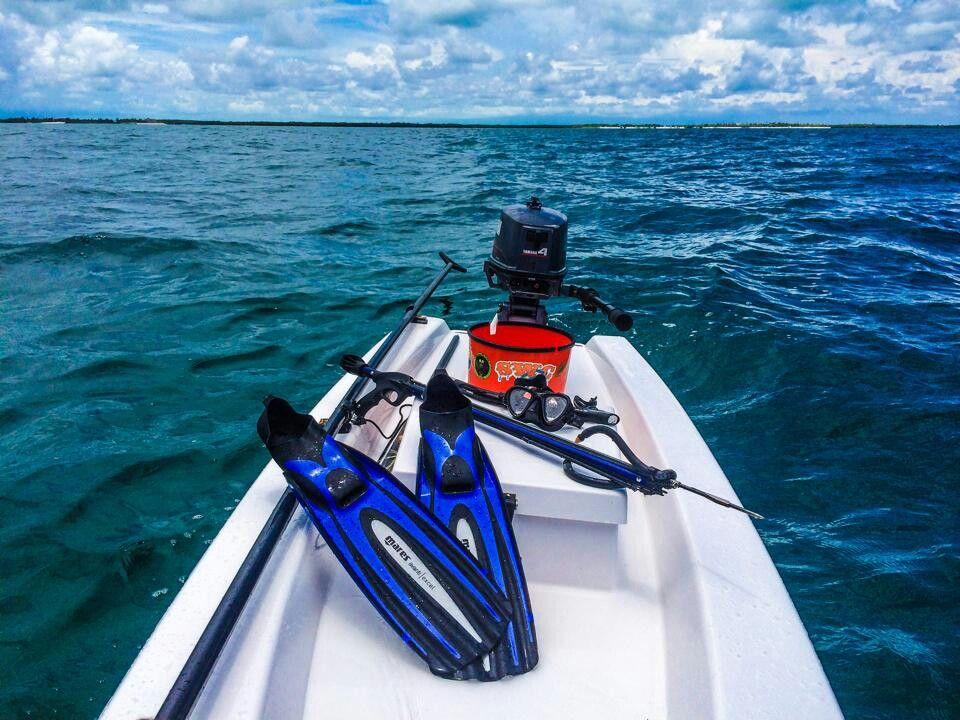 # spearfishing#soloskiff