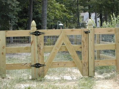 welded wire fence gate. With Welded Wire, French Gothic Gate Posts, Horizontal Board Wire Fence