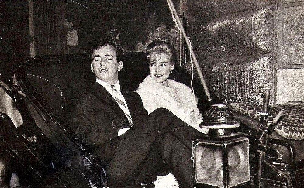 Sandra Dee and Bobby Darin.