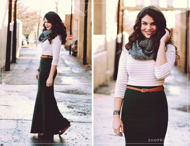 The Clothes Horse / Ruche Blog. I really want to buy maxi skirts ...