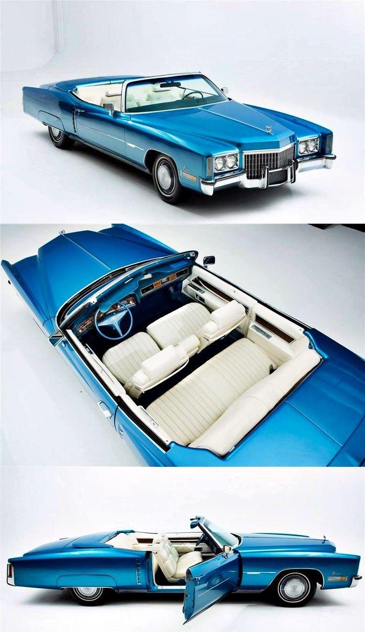 1972 Cadillac Fleetwood Eldorado Cabrio