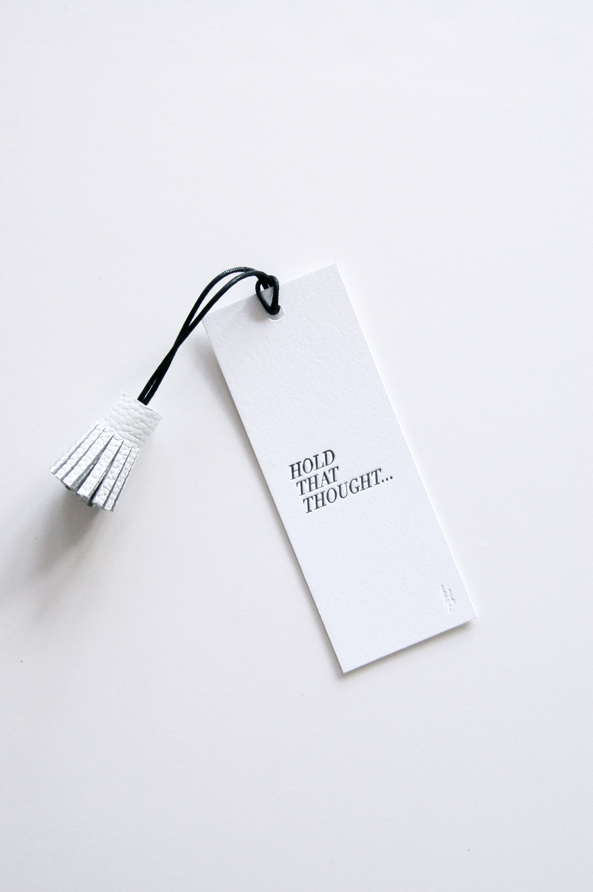 Literary Luxe: Letterpress Printed Place Holder from In Haus Press ...