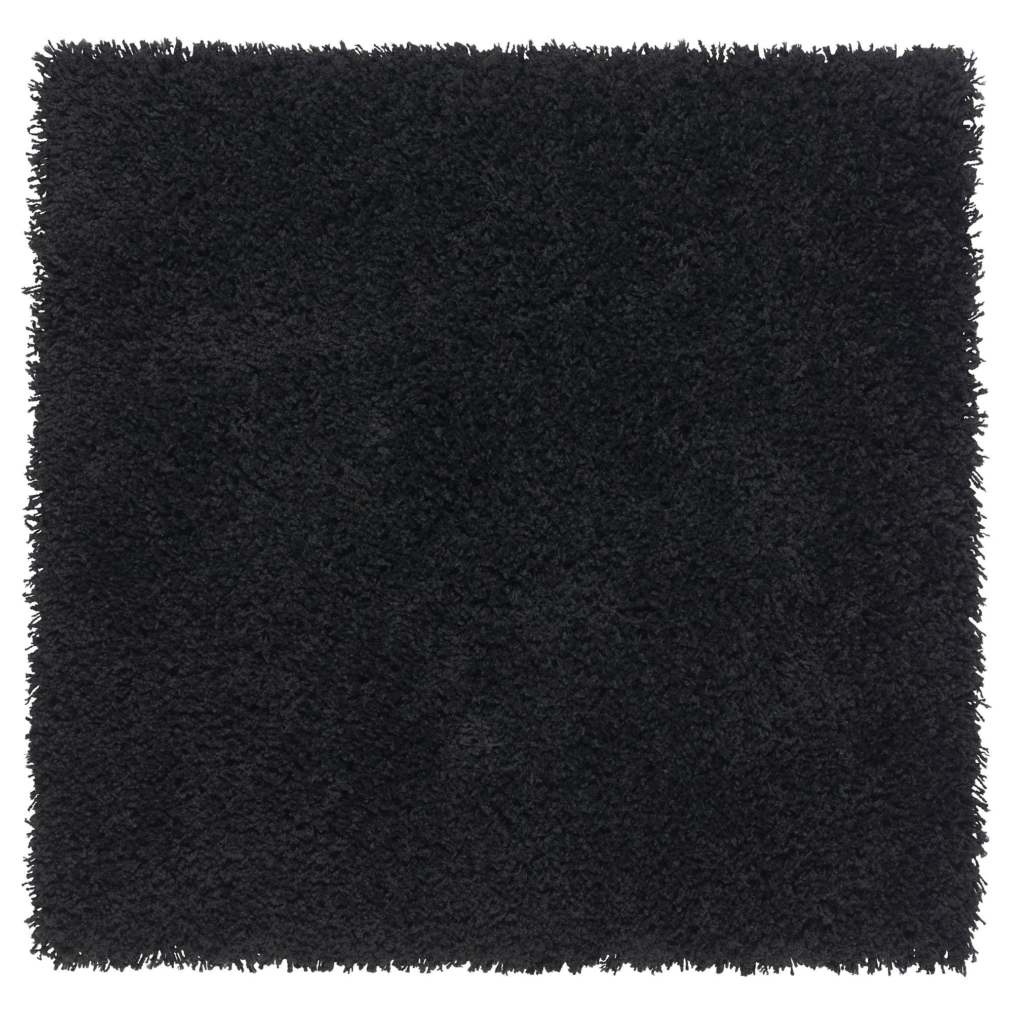 Ikea Teppich 80x80 Hampen Rug High Pile Black Ikea For The Office Le