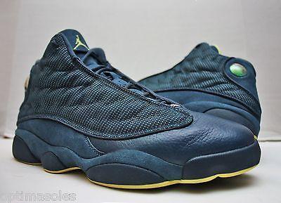 huge discount 64c52 24e3a Nike Air Jordan XIII 13 Retro Size 13 - Navy Blue Yellow - Squadron - 414571  405