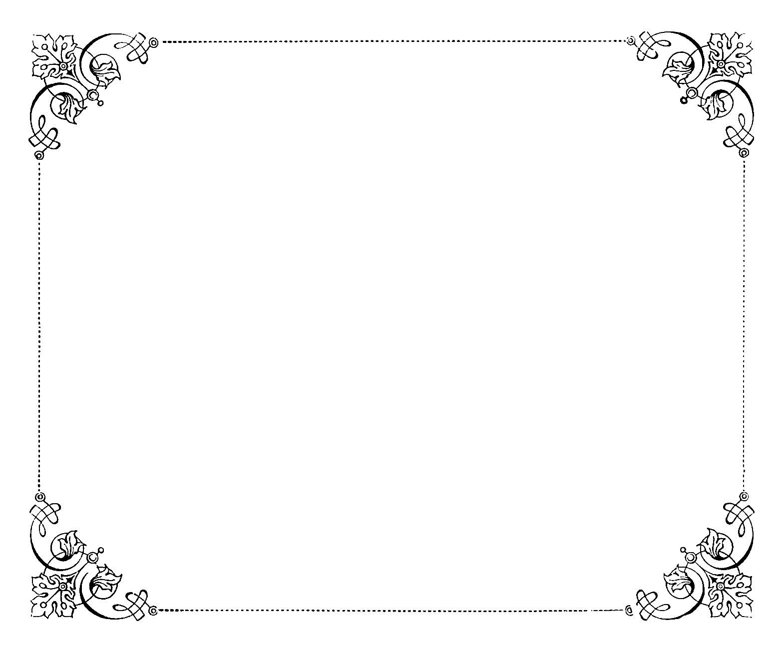 8 Fancy Paper Border Designs Images   Fancy Frame Borders, Black .  Paper Border Designs Templates