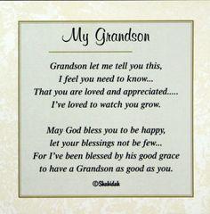 Happy Birthday Grandson Poems 7