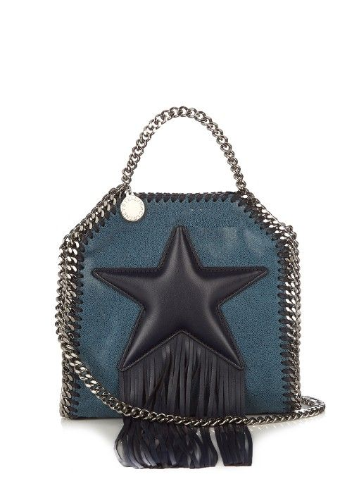 db245eb93bf5 Stella McCartney Falabella tiny faux-leather cross-body bag ...