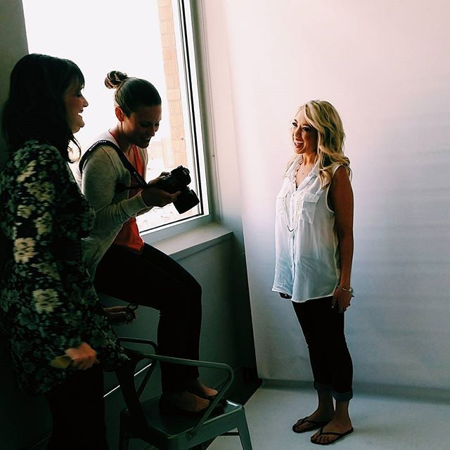 Nicole Toledo Makeup Artistry behind the scenes of our blog editorial
