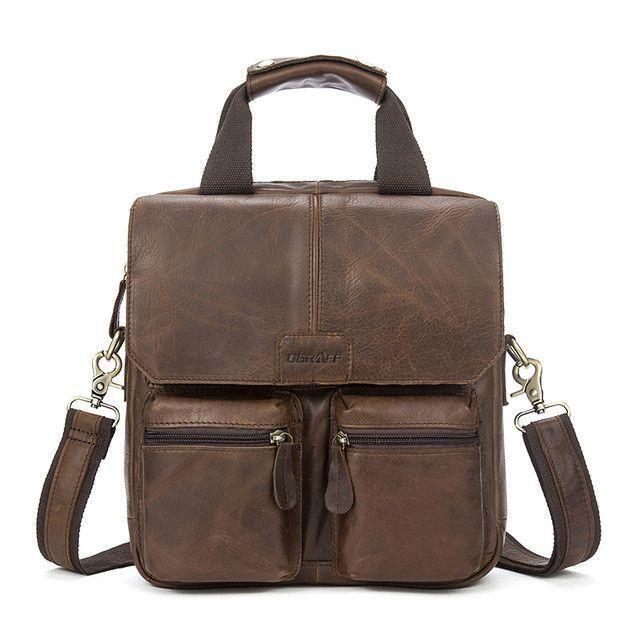 OGRAFF Handbag Men Bag Leather Briefcases For Lawyers Shoulder Bags Genuine  Leather Male Messenger Bags Handbags Men Office Bag d158c38d3fbc8