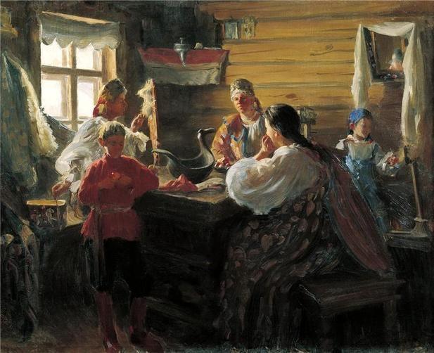 рукоделие в живописи: 13 тыс изображений найдено в Яндекс ...