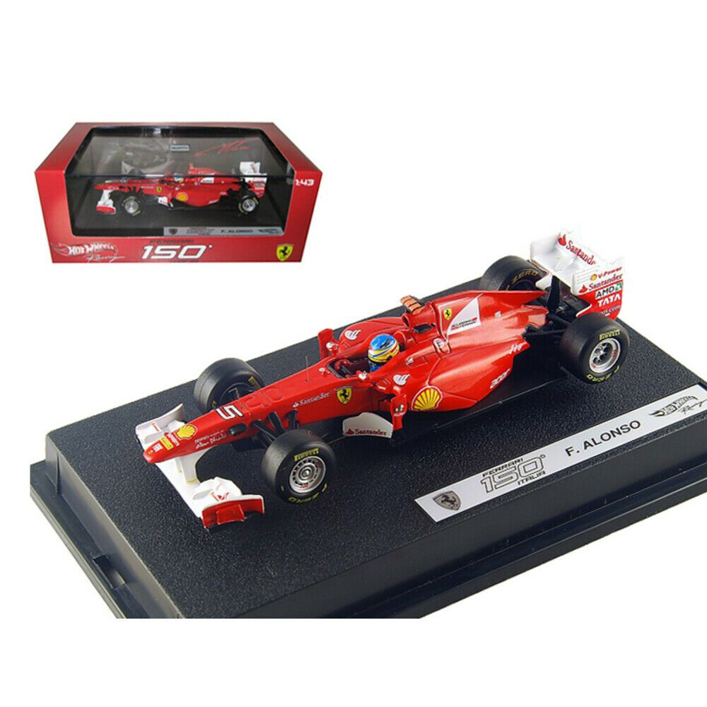 New Ferrari F2011 150 Italia #5 Fernando Alonso 2011 1/43 Diecast Car Model by H #newferrari