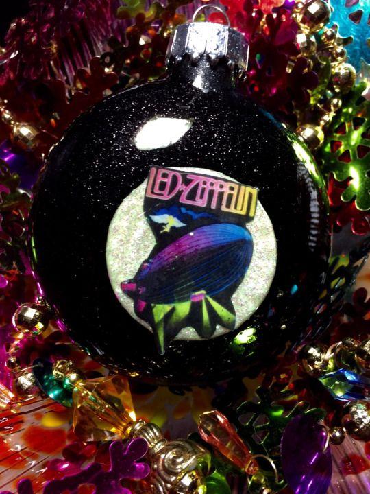 led zeppelin christmas ornament - Led Zeppelin Christmas