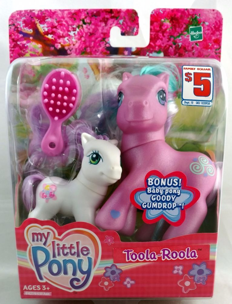 Only 4 Hours Left To Bid My Little Pony Family Dollar Exclusive