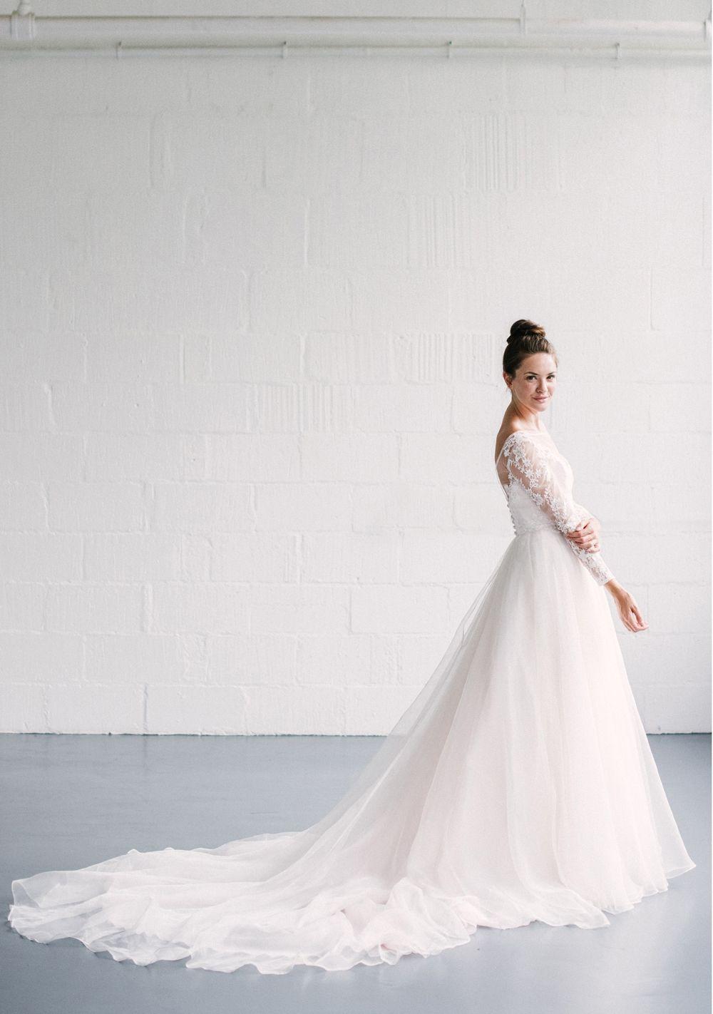 Naomi Neoh Serena wedding dress & Zeta lace Jacket - 2018 Celestial ...
