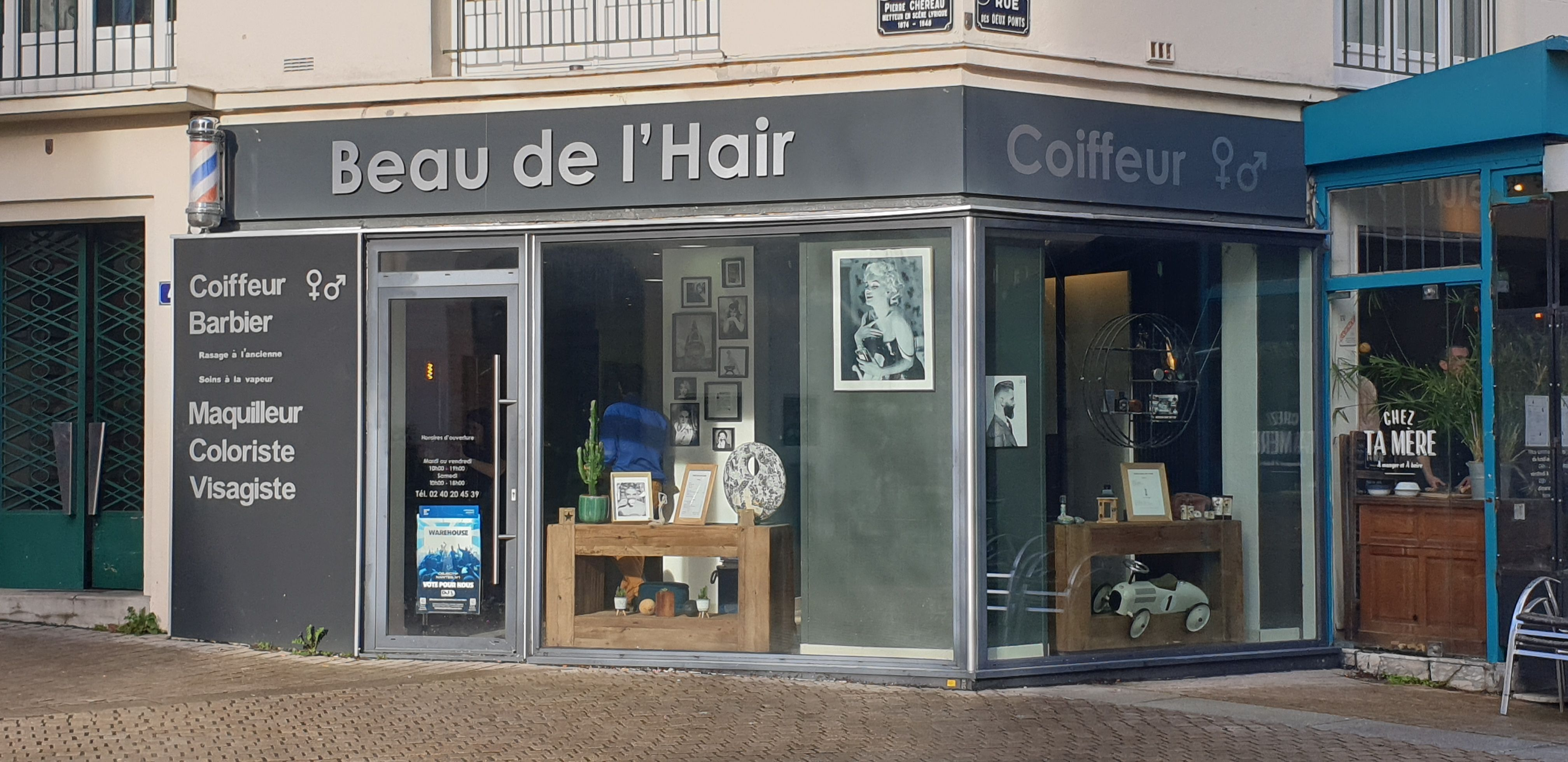18+ Salon coiffure nantes des idees