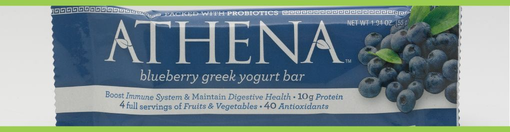 Athena Greek Yogurt Bars Removing Gluten Free Label Yogurt Bar Greek Yogurt Yogurt