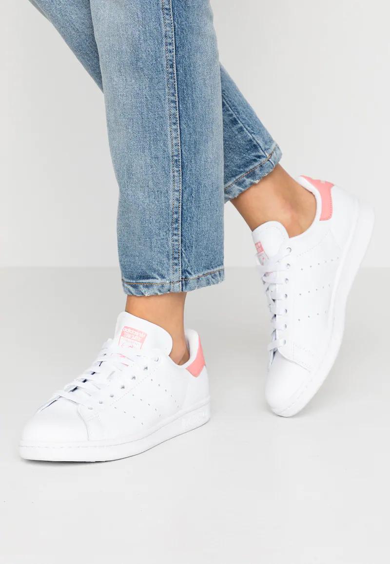 STAN SMITH - Sneakersy niskie - footwear white/tactile rose ...