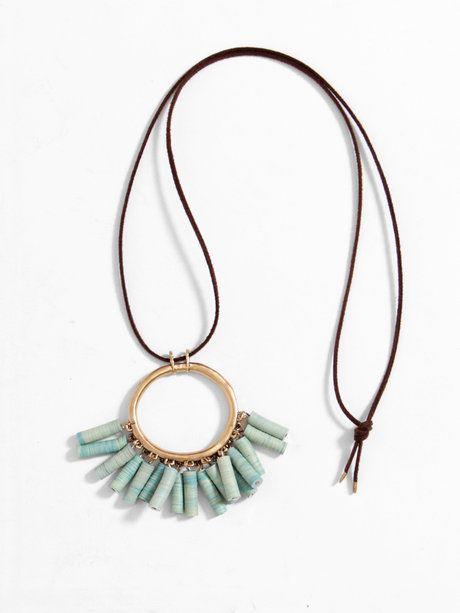 Re-elle Catch Necklace - Turquoise « Pour Porter