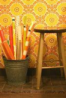 Kodinhoitohuoneen värejä