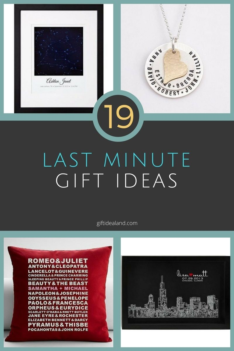 19 Best Last Minute Gifts