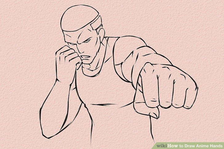 How To Draw Anime Hands Drawing Anime Hands Anime Hands Drawing Fist