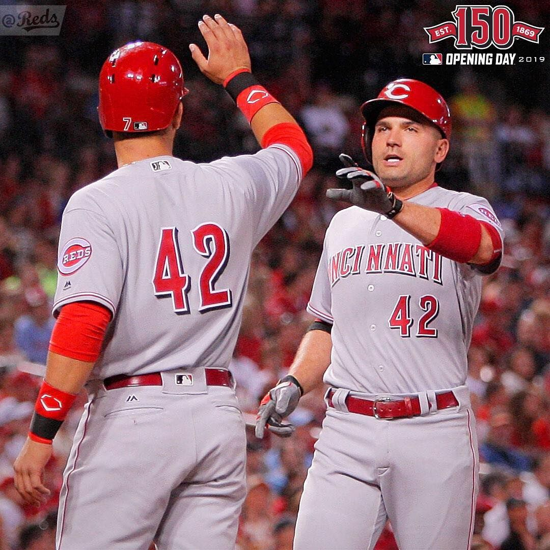 Dear Baseball Be Mine 42 Days Until Redsopeningday With Images Cincinnati Reds Reds Opening Day Cincinnati