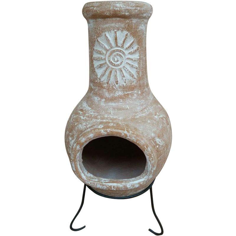 Brasero Et Cheminee D Exterieur Patio Heater Clay Chiminea