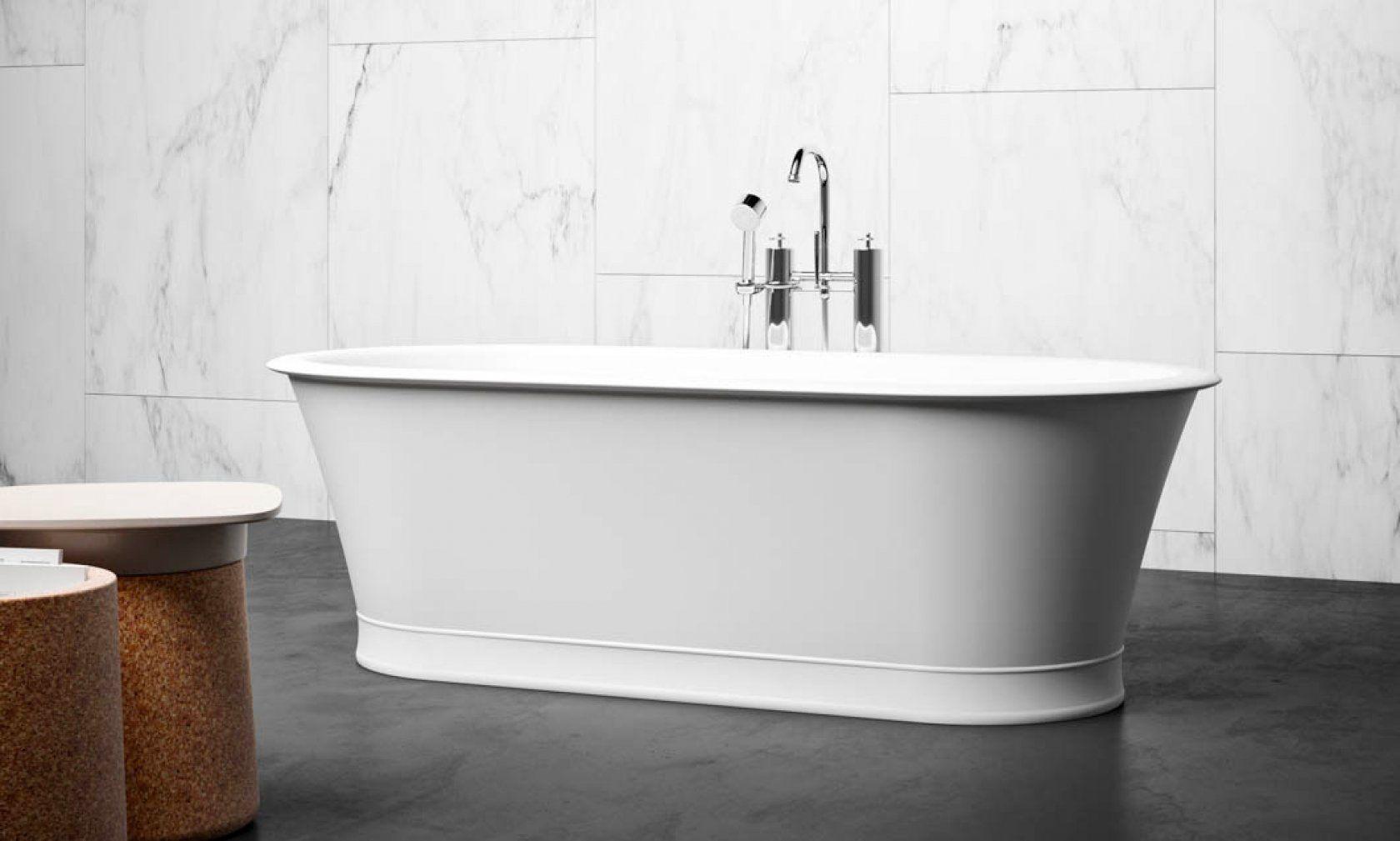 Freestanding Bathtub Baltimore Blubleu Vasca Da Bagno Freestanding