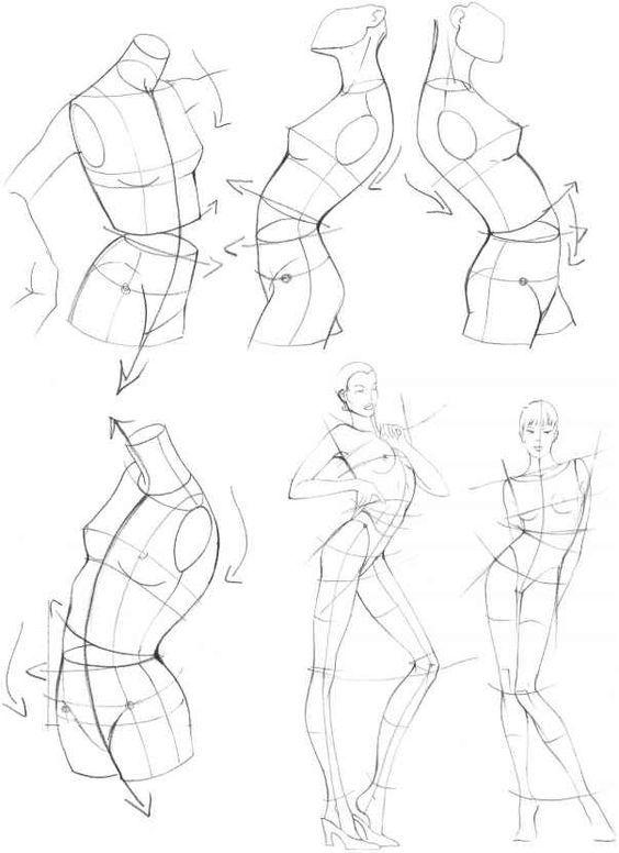 Karakalem Anatomi Model Çizimleri | Figure drawing, Anatomy and Drawings