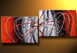 Cuadros Abstractos Modernos Decorativos Tripticos Dipticos Google Search Abstract Art Painting Modern Abstract Painting Large Canvas Painting