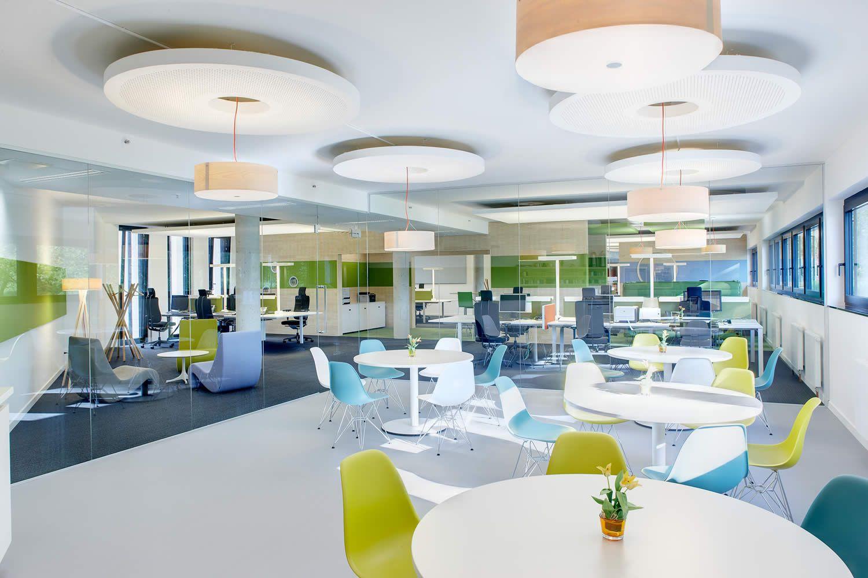kumavision cafeteria plastribution office inspiration