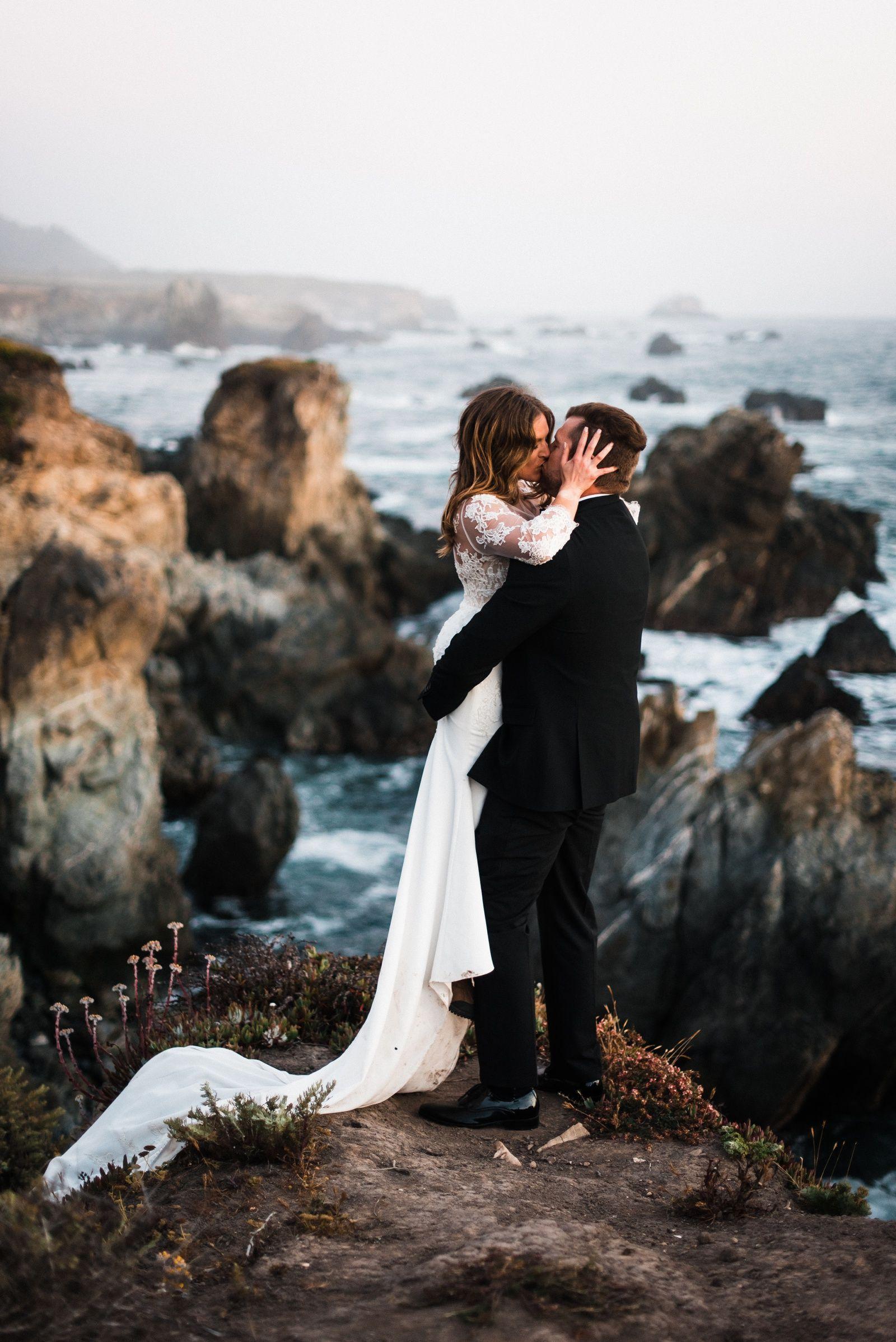 California elopement location ideas this big sur