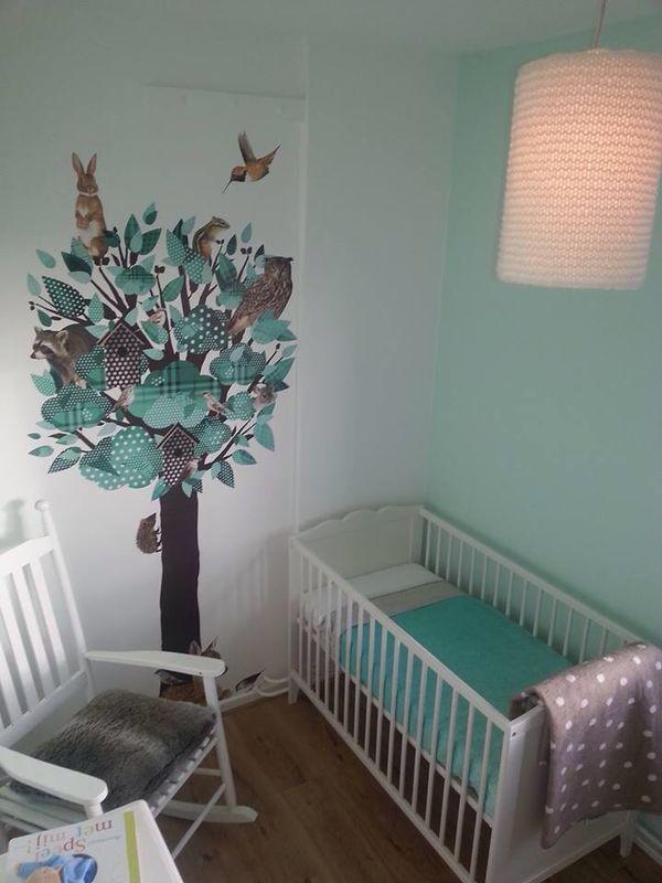 Mintgroen nursery pinterest babies nursery and room - Kamer bebe pastel ...