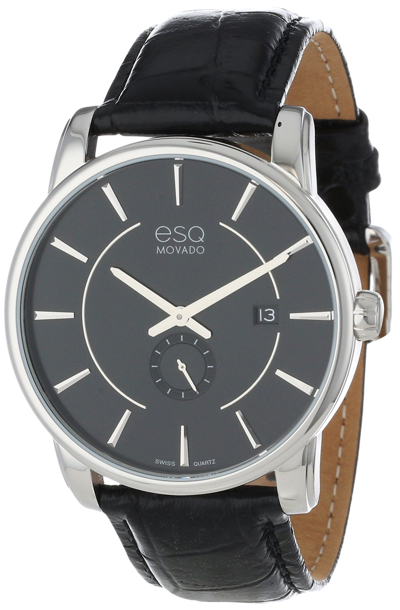 free steel overstock s shipping mens chronograph esq men watches today movado by stainless watch jewelry product catalyst