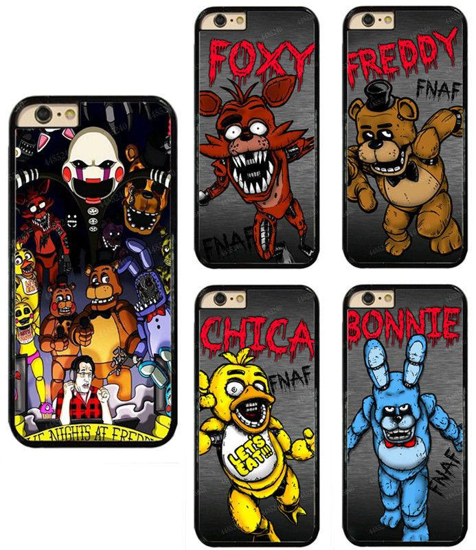 Five Nights at Freddy's - Pixel art - Multiple Characters iphone 11 case