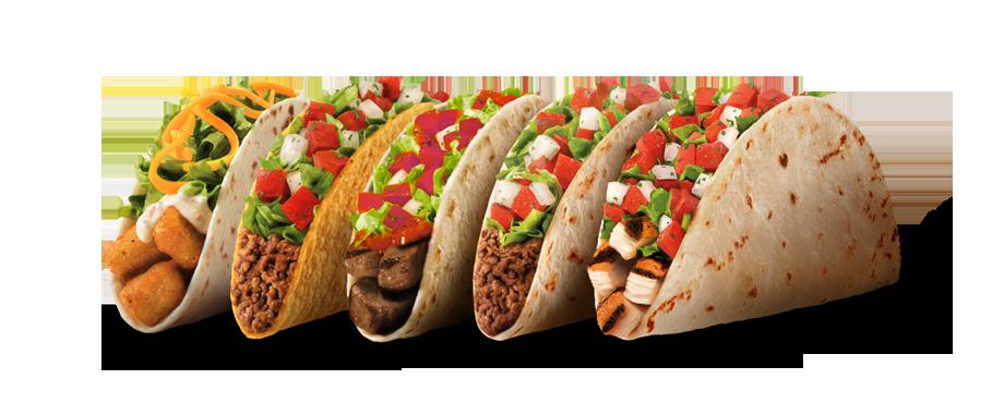 Taco Bell 3 Food Tacos Taco Bell