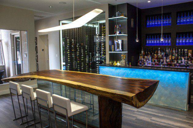 Des idées de bar moderne pour votre maison | Bar maison ...