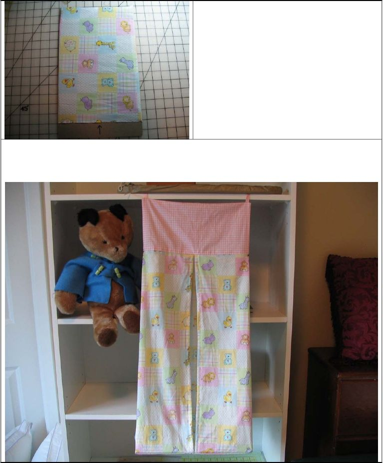 Diy Diaper Stacker Good Tutorial Easy And Pretty Quick To
