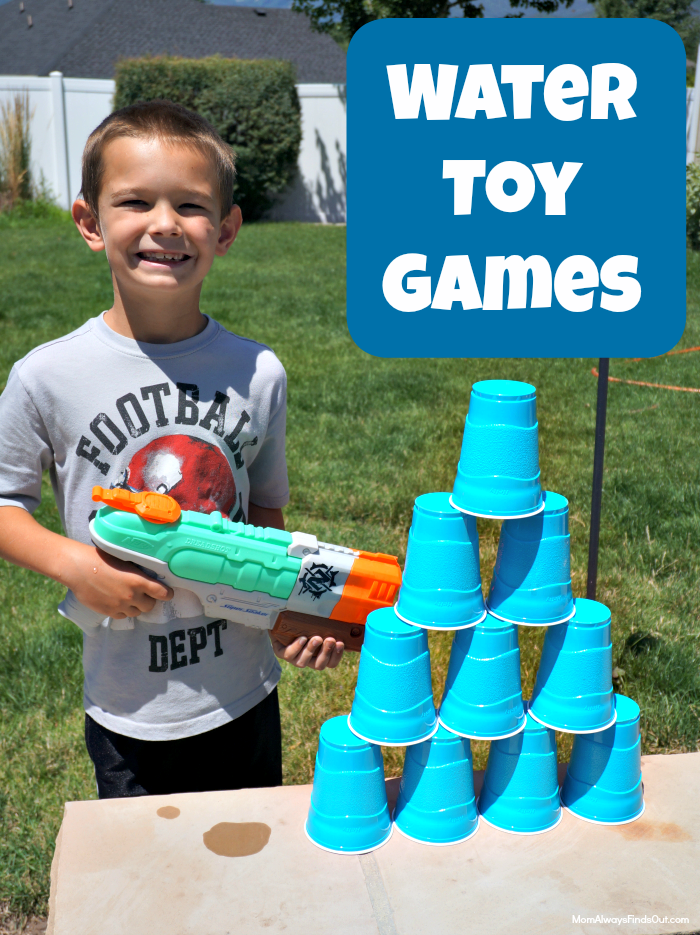 Beat The Heat With Water Gun Games Spiel